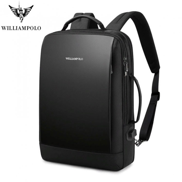 Бизнес рюкзак William Polo 187146 с USB-портом