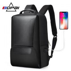 Бизнес рюкзак BOPAI 751-007101 с USB-портом и отделением для ноутбука 15.6