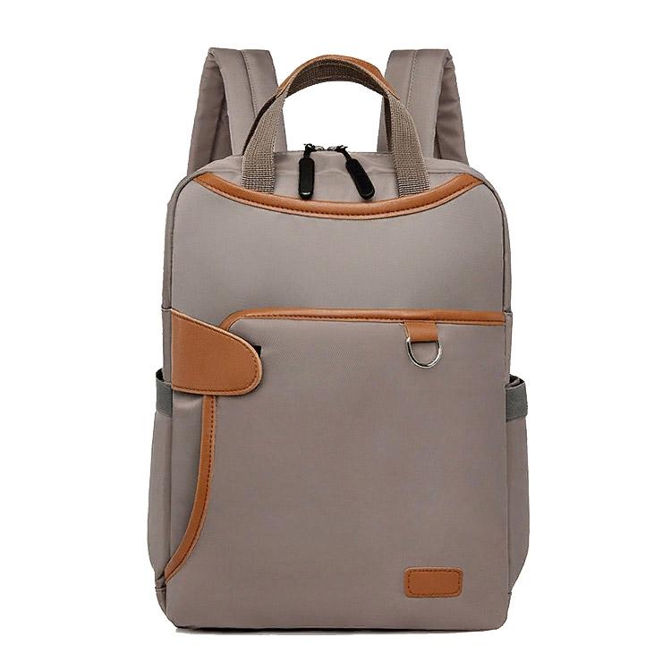 Женский рюкзак Bella Borsa Хаки с отделением для ноутбука 14 дюймов
