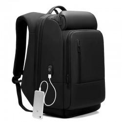 Рюкзак EuroCool 1755 Чёрный с отделением для ноутбука 17.3