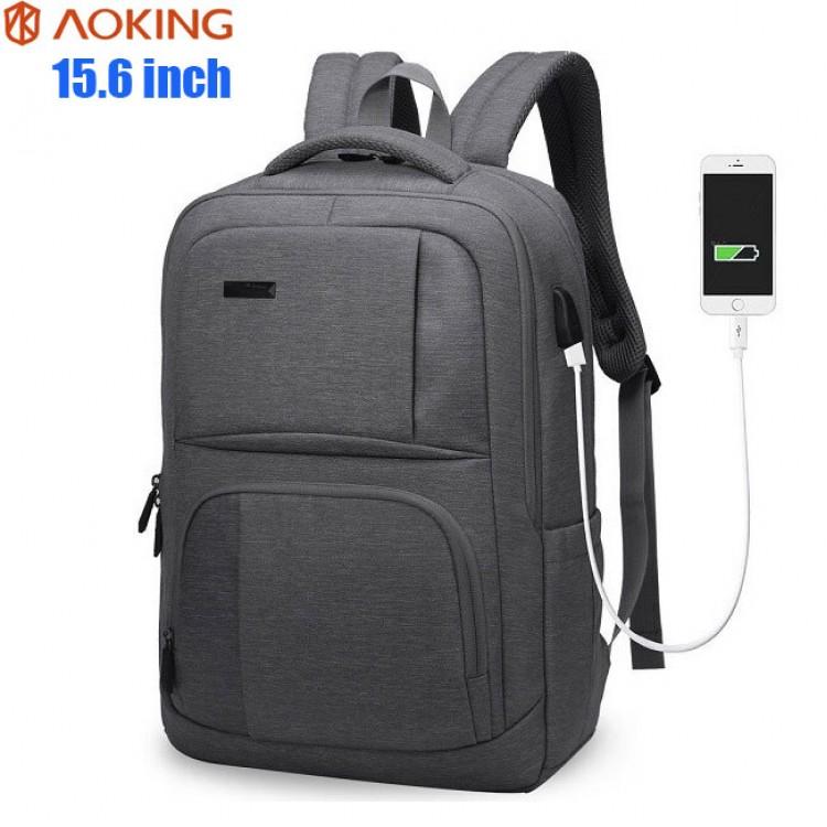 Рюкзак AOKING FN77177 Тёмно-серый