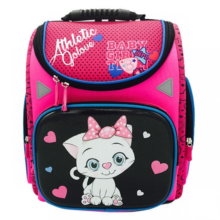 Школьный ортопедический ранец для девочки 1-4 класс Kitty
