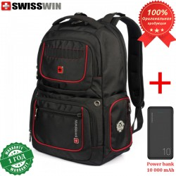 Рюкзак Swisswin SW6013V для ноутбука 17.3 + Power bank 10 000 mAh