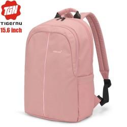 Рюкзак Tigernu T-B9017 Розовый с отделением для ноутбука 15.6