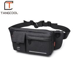 Сумка на пояс Tangcool TC906 Тёмно-серая