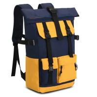 Городской рюкзак Fandy Сине-жёлтый