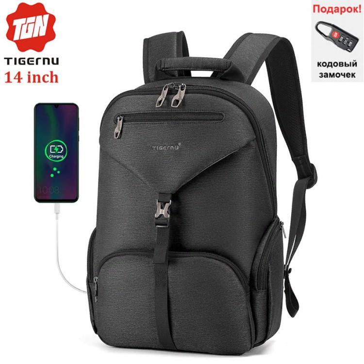 Рюкзак Tigernu T-B3939 Тёмно-серый