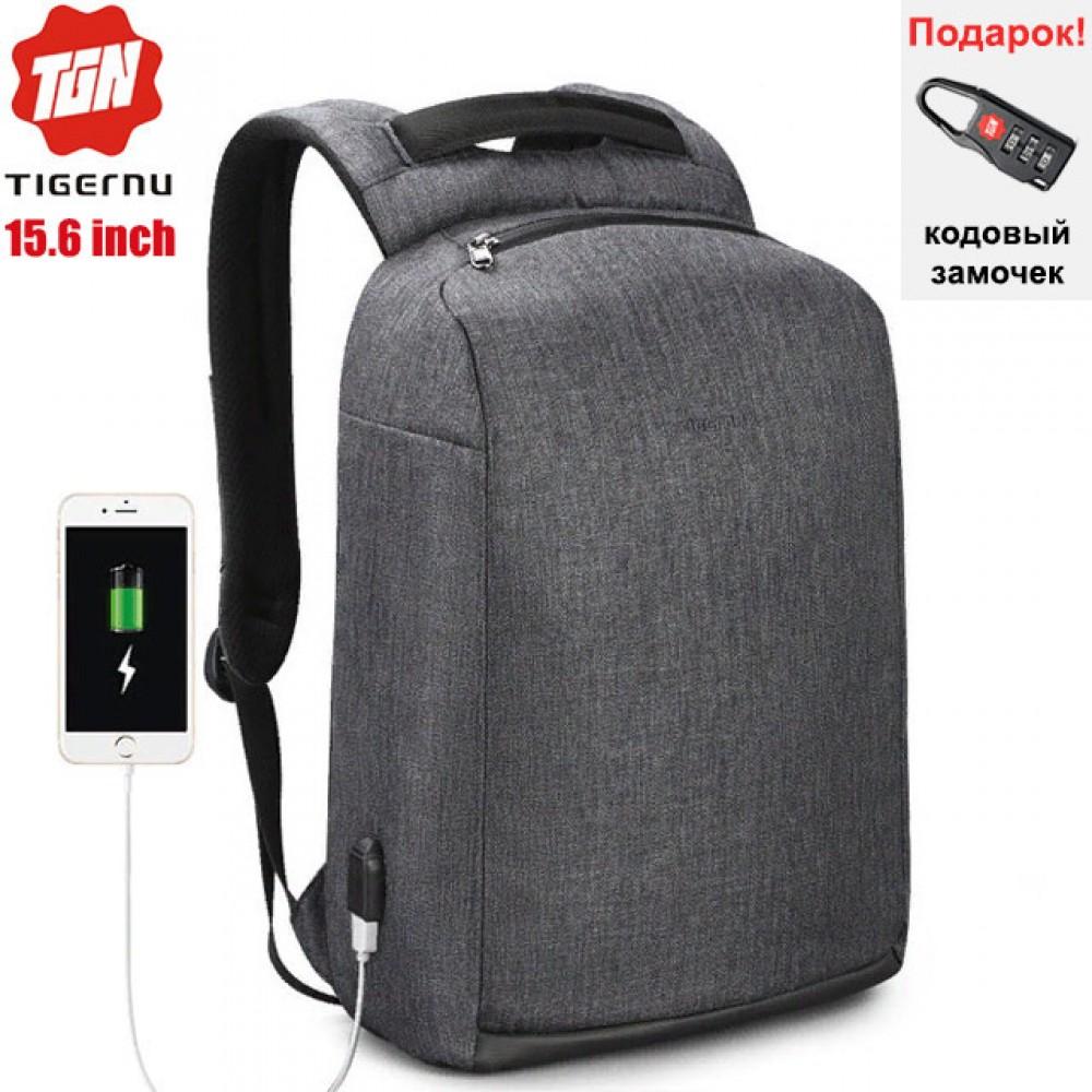 Рюкзак Tigernu T-B3558 Тёмно-серый