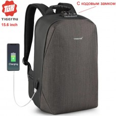 Рюкзак Tigernu T-B3669 Чёрно-коричневый