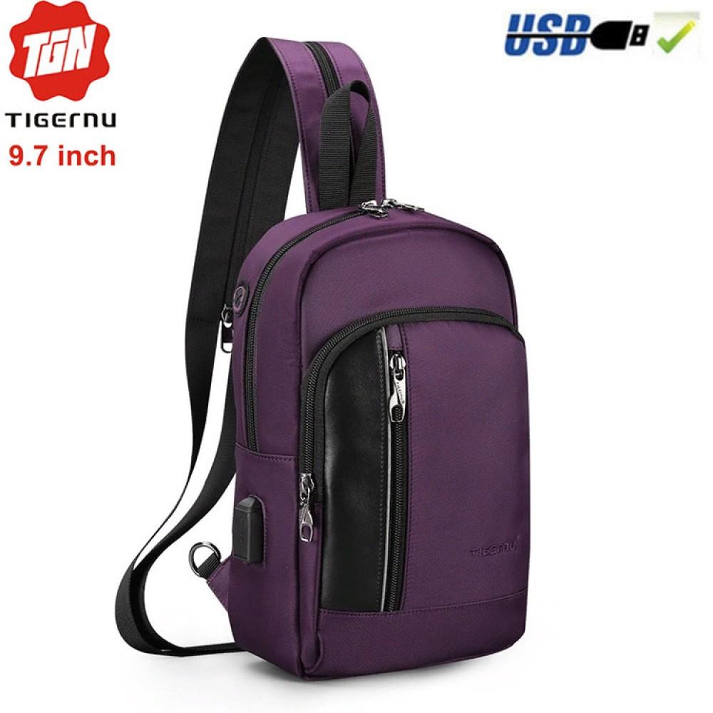 Сумка-рюкзак Tigernu T-S8089 Фиолетовая