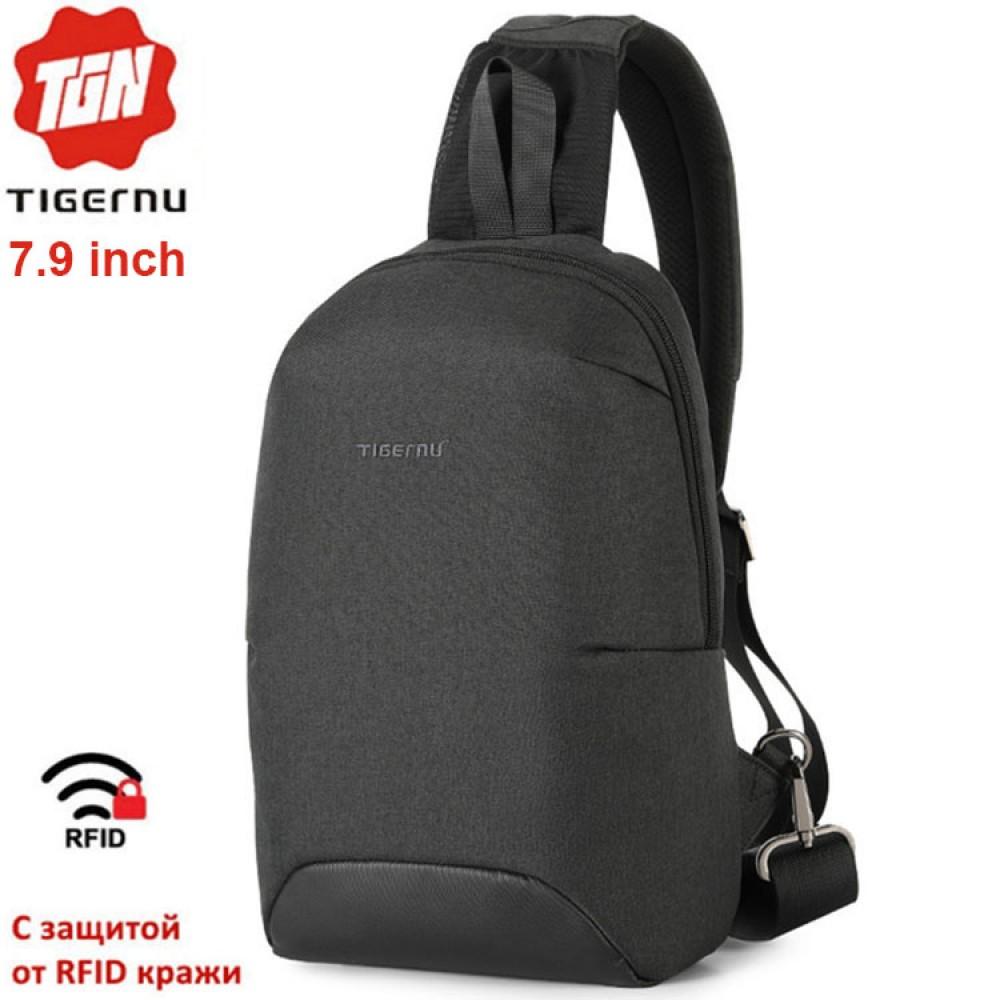 Однолямочный рюкзак Tigernu T-S8093 с RFID защитой