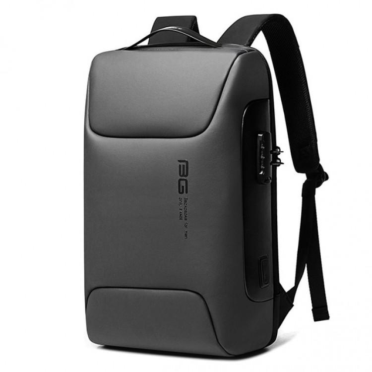 Рюкзак Bange BG-7216 Серый с USB-портом и отделением для ноутбука 15.6