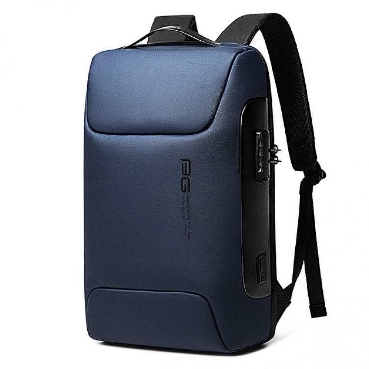 Рюкзак Bange BG-7216 Синий с USB-портом и отделением для ноутбука 15.6