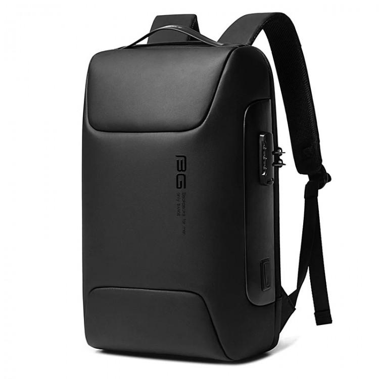 Рюкзак Bange BG-7216 Чёрный с USB-портом и отделением для ноутбука 15.6