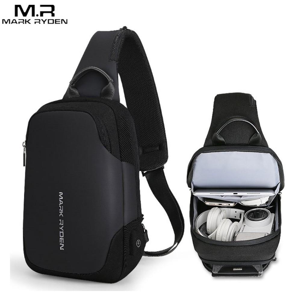 Сумка Mark Ryden MR7056 Чёрная с USB-портом