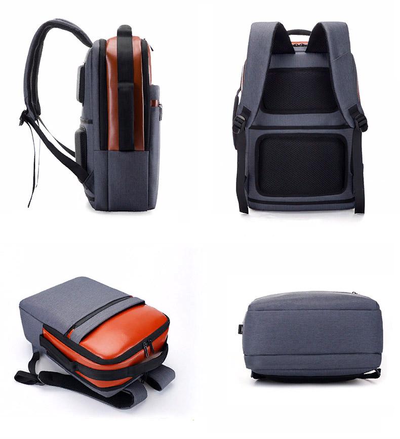 Рюкзак Atlas B0022 Серо-коричневый