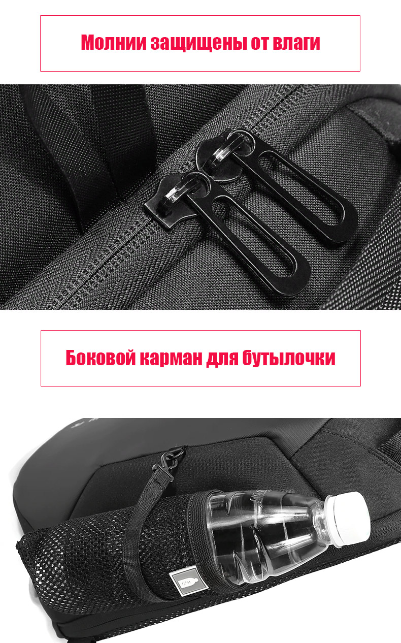 Однолямочный рюкзак EuroCool EC-1825
