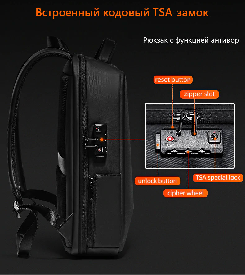 Противоударный рюкзак Fenro Armor FR5013