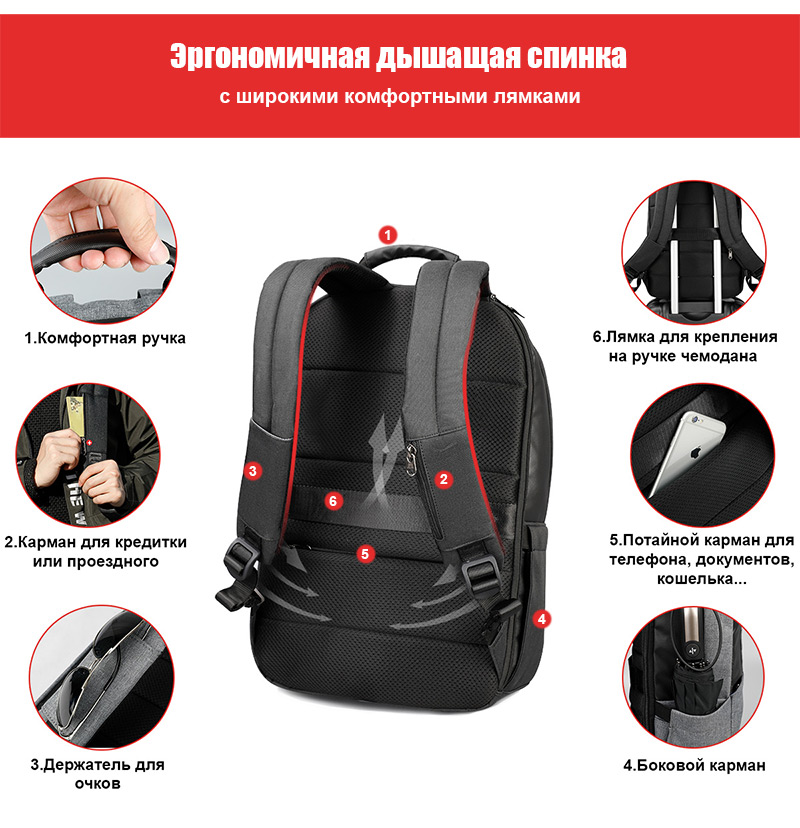 Рюкзак Tigernu T-B3502