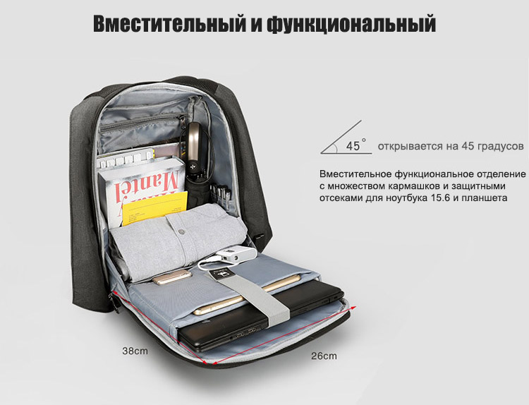 Рюкзак Tigernu T-B3599