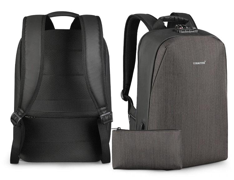 Рюкзак Tigernu T-B3669 с USB-портом и отделением для ноутбука 15.6