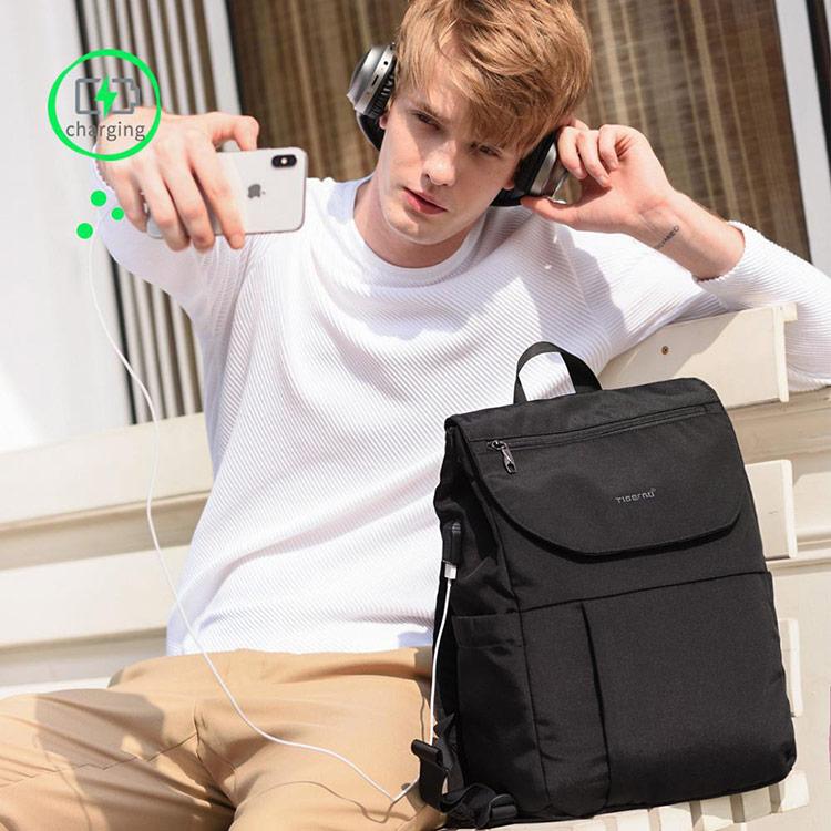 Рюкзак-сумка Tigernu T-B3869 Чёрный