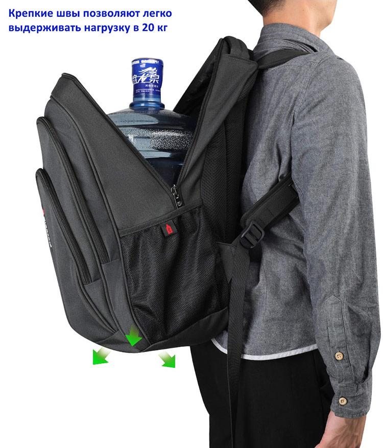 Рюкзак Tigernu T-B3893 с USB-портом