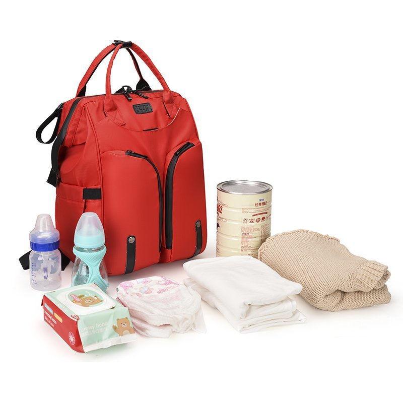 Рюкзак для мамы Rui Mom Bag Красный